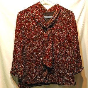 Elements brown button up shirt